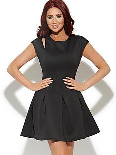 amy-childs-keira-scuba-skater-dress