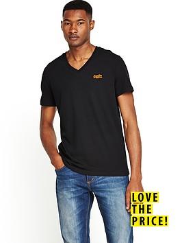 superdry-mens-orange-label-vintage-v-neck-t-shirt-black