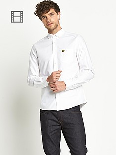lyle-scott-mens-long-sleeved-oxford-shirt-white