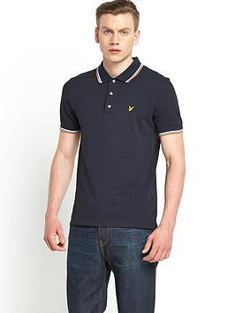 lyle-scott-mens-tipped-collar-polo-shirt-new-navy