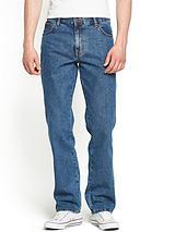 Mens Texas Straight Rigid Jeans - Stonewash