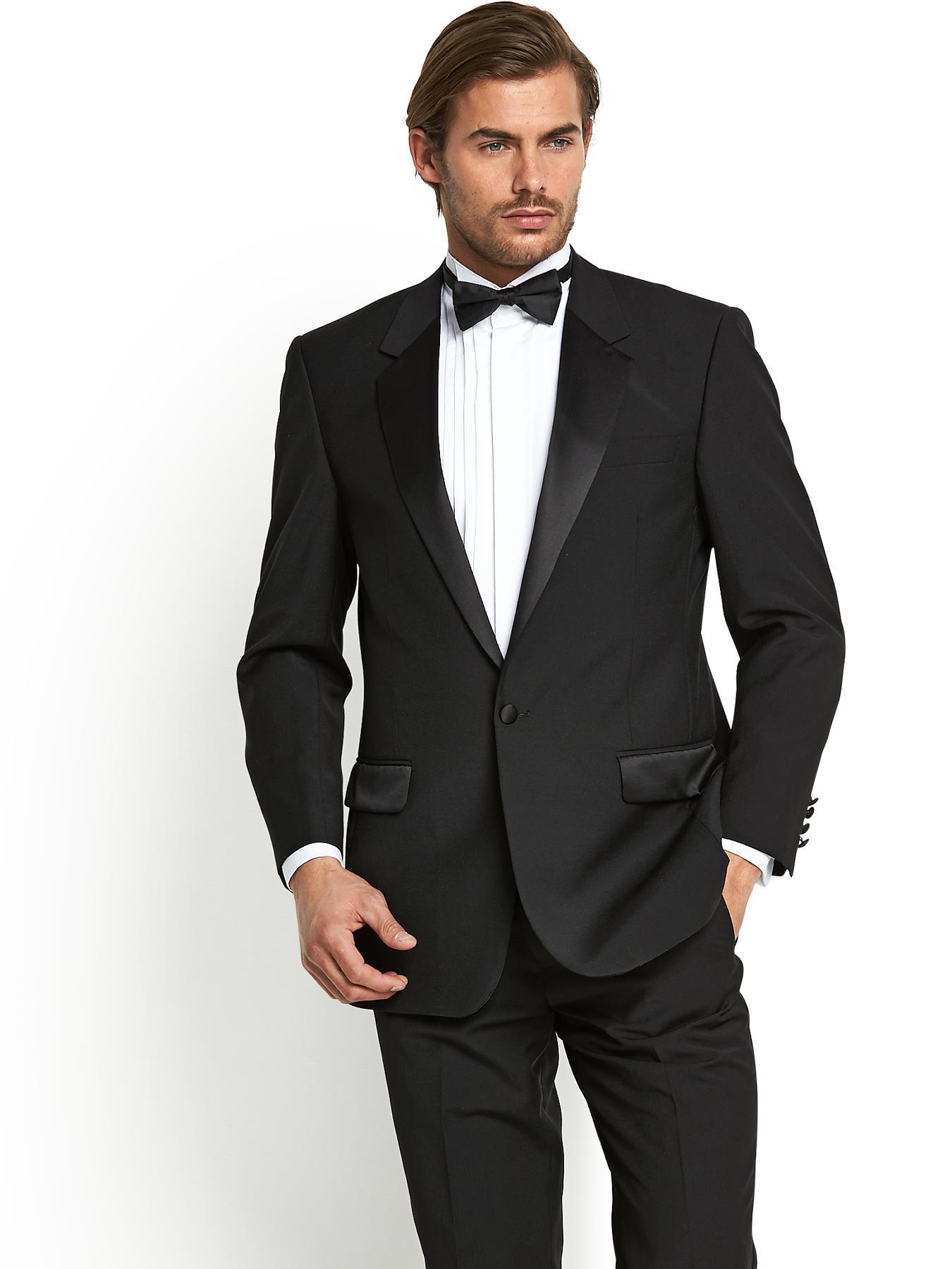 Skopes Mens Chatsworth Classic Dinner Jacket - Black, Black
