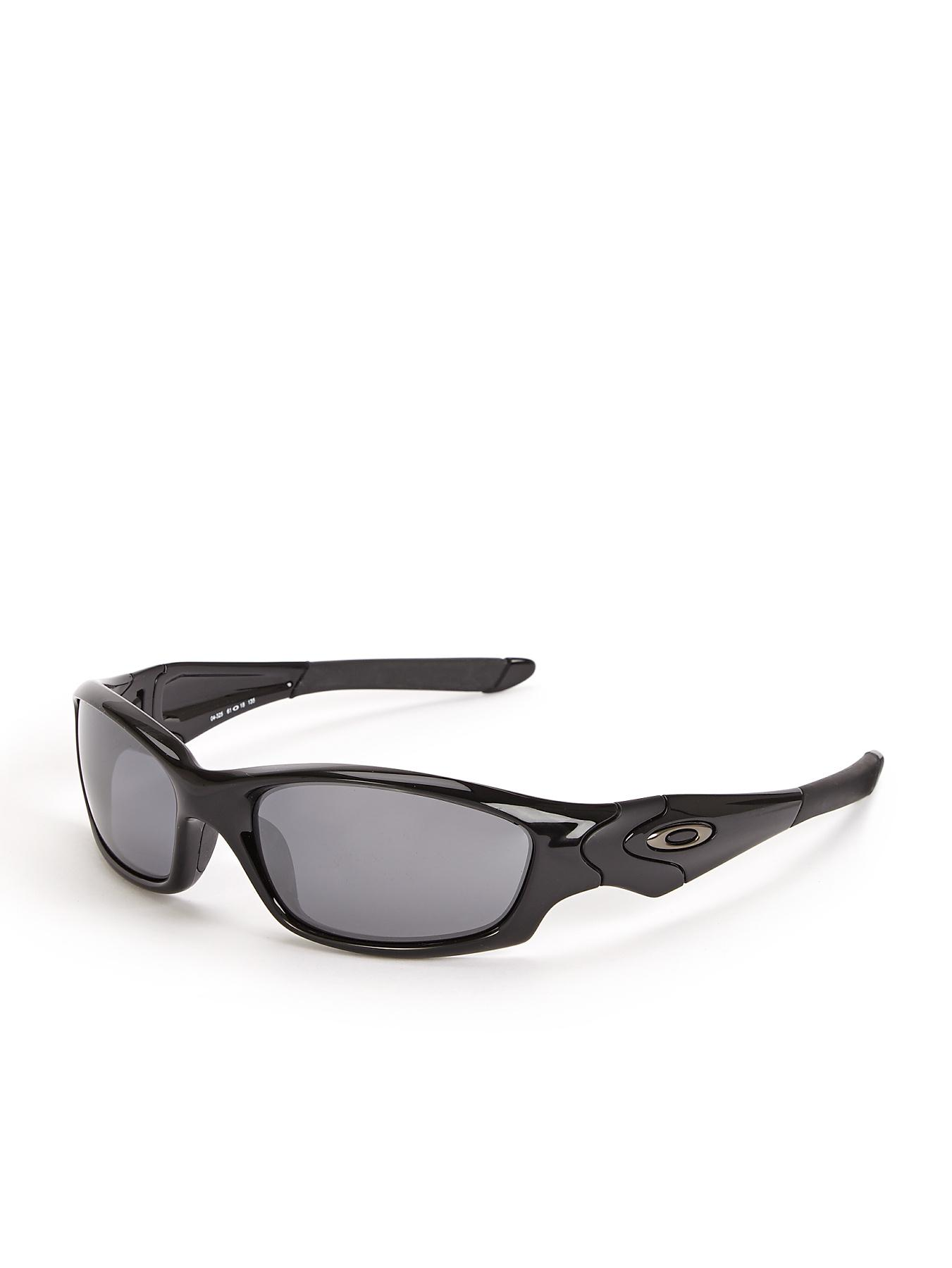 Oakley Straight Jacket Sunglasses - Black, Black