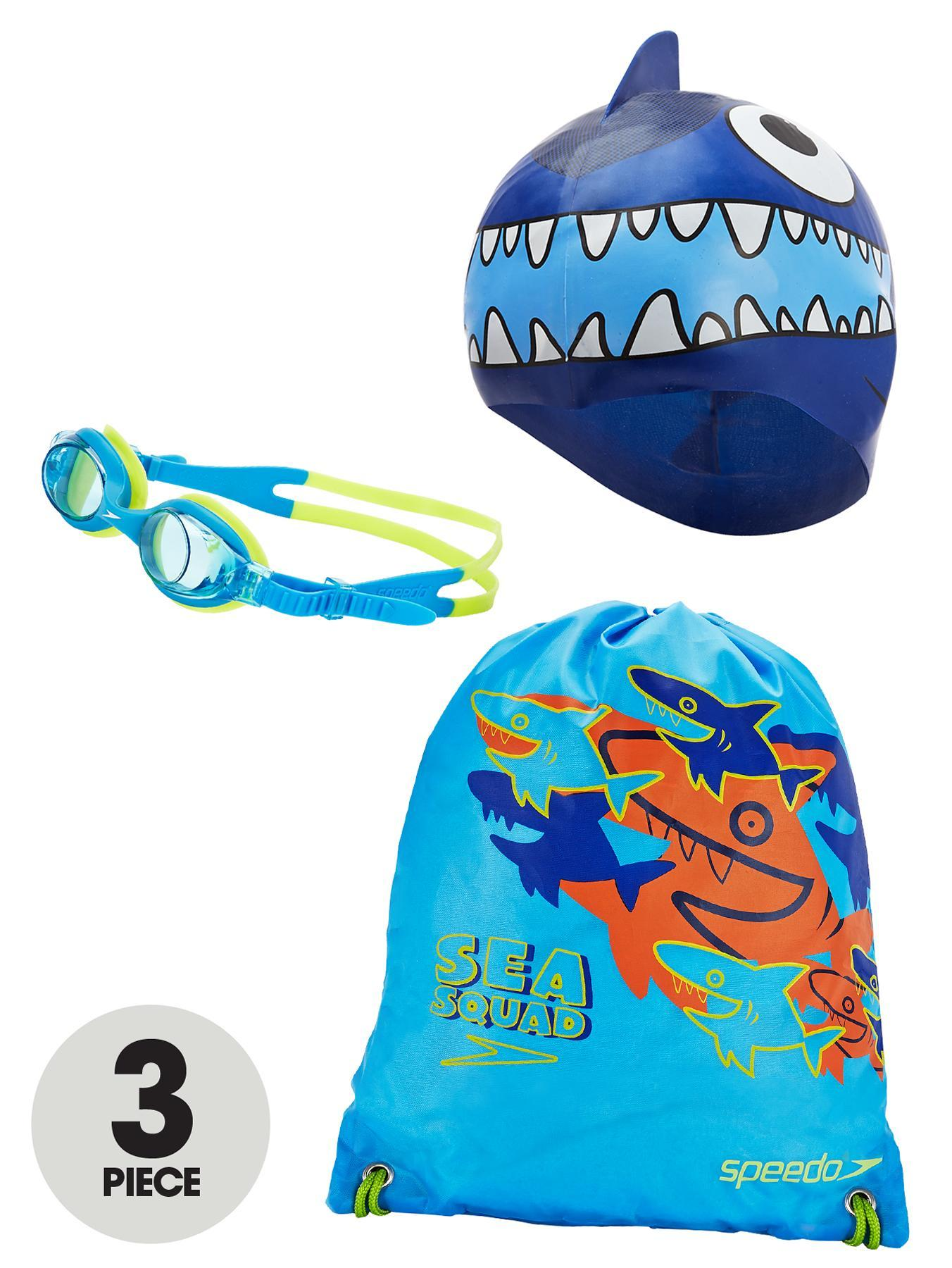 Speedo Little Boys Sea Squad Swim Pack - Blue, Blue