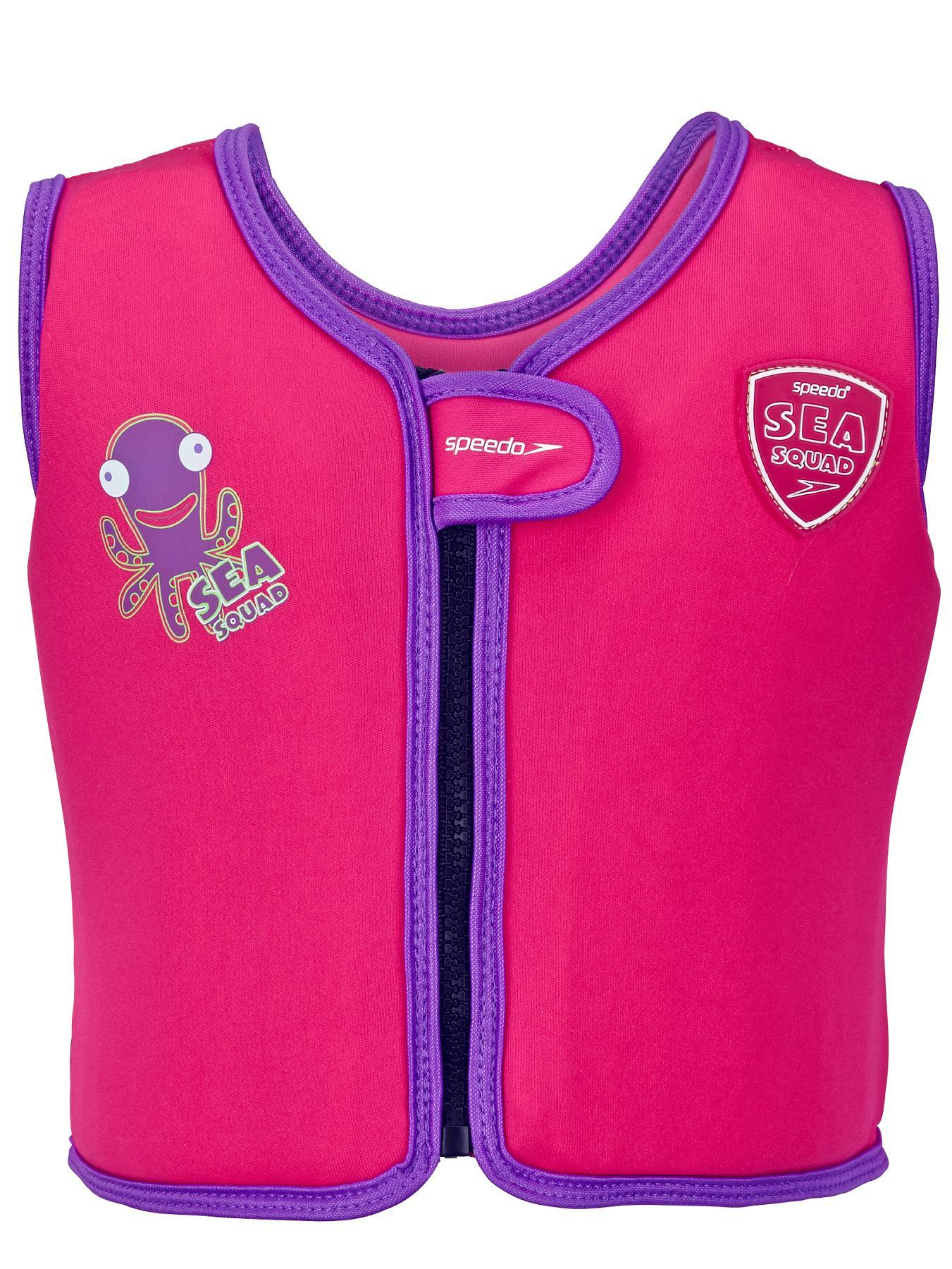 Speedo Little Girls Float Vest - Pink, Pink