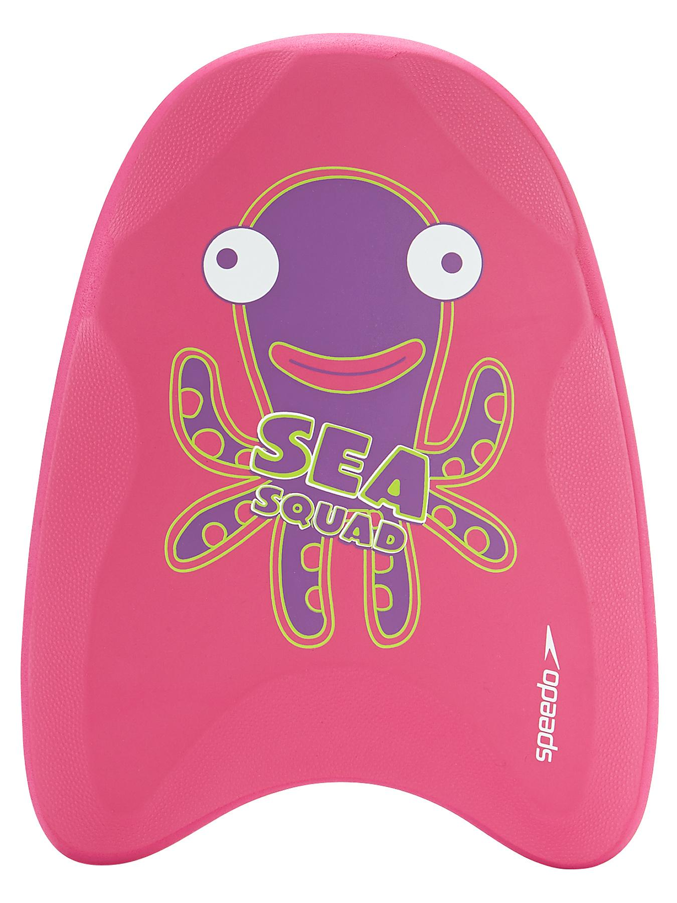 Speedo Girl Sea Squad Kick Board - Pink, Pink