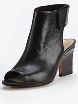 Turin Dreaming Peep Toe Shoe Boots