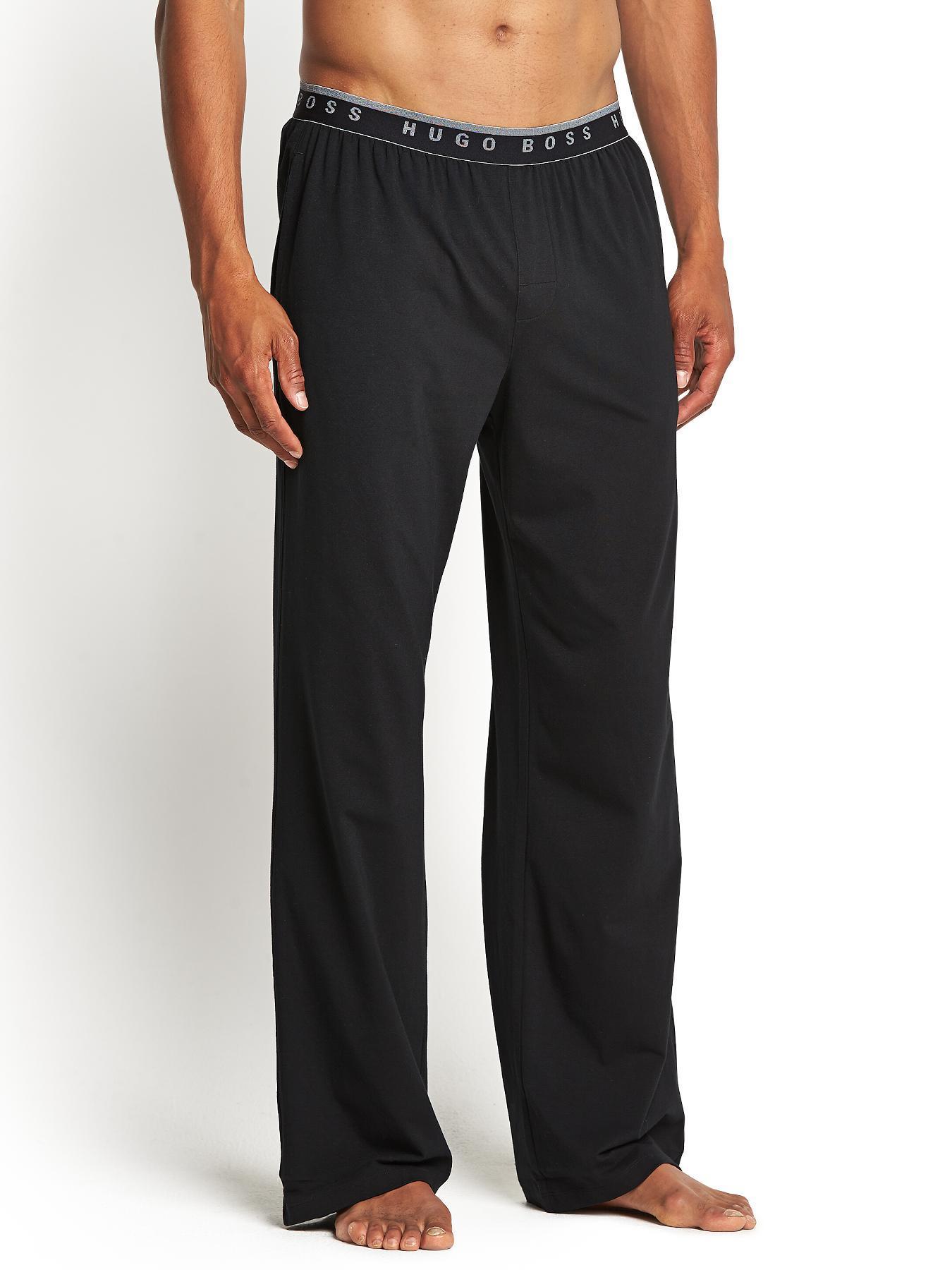 Hugo Boss Mens Core Lounge Pants - Black, Black
