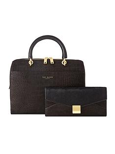 ted-baker-bowler-with-removable-clutch
