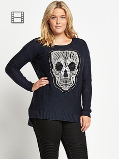 lovedrobe-lace-skull-knit