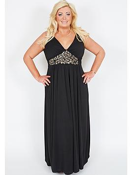 gemma-collins-el-salvador-embellished-maxi-dress-available-in-sizes-16-24