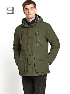 fred-perry-wadded-mountain-parka