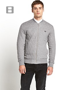 fred-perry-quilted-marl-bomber