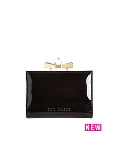 ted-baker-leather-small-crystal-bow-purs