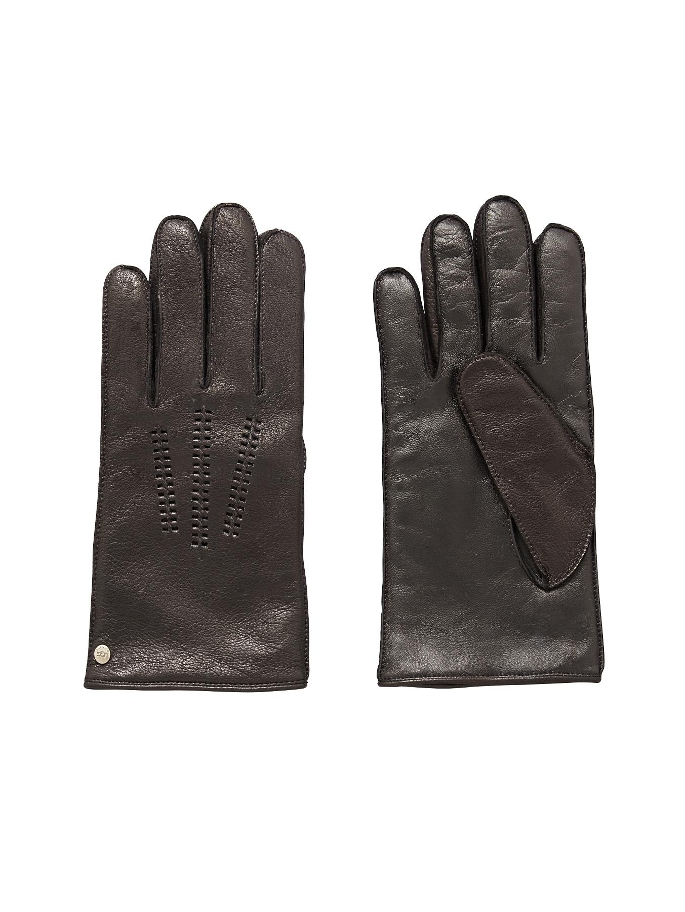 Ugg Australia Classic Leather Smart Gloves - Black, Black