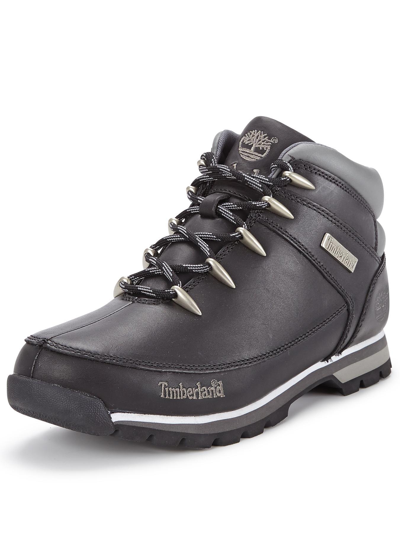 Timberland Eurosprint Boots - Black, Black