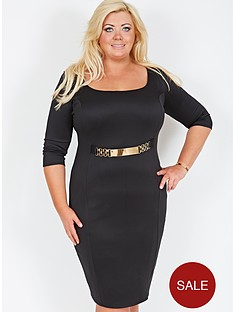 gemma-collins-corsica-belted-dress-available-in-sizes-16-24