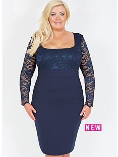 gemma-collins-lace-scoop-neck-dress