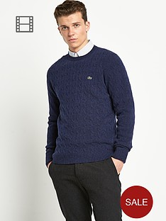 lacoste-cable-knit-jumper