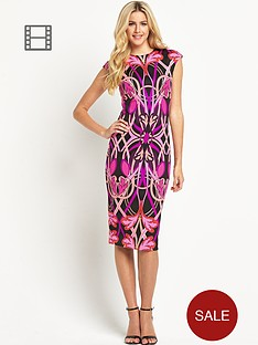ted-baker-floradi-linear-jewel-printed-midi-dress