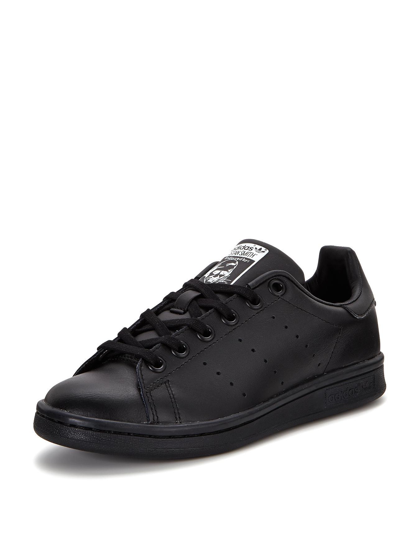 adidas Originals Stan Smith Junior Trainers - Black, Black