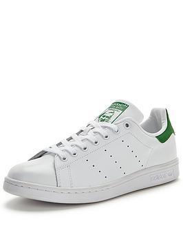 adidas-originals-stan-smith-mens-trainers-whitegreen