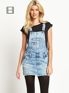 hilfiger-denim-penny-dungaree-skirt