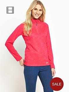 trespass-fairford-quarter-zip-fleece-pink