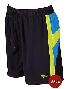 speedo-youth-boys-logo-yoke-splice-15-inch-water-shorts