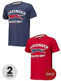 slazenger-boys-t-shirts-2-pack