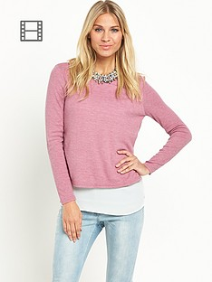 south-lightweight-chiffon-insert-jumper