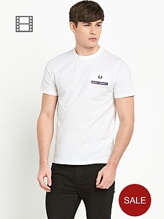 fred-perry-mens-woven-jet-pocket-t-shirt