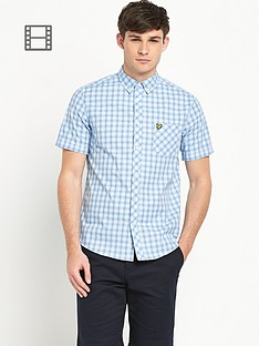 lyle-scott-mens-short-sleeve-checked-shirt