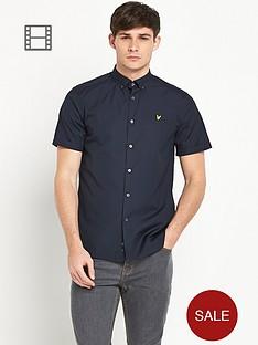 lyle-scott-mens-short-sleeve-poplin-shirt