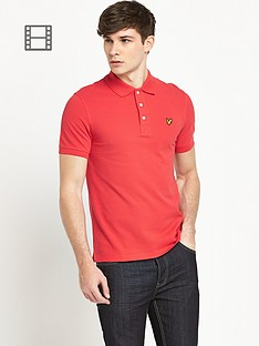 lyle-scott-mens-plain-polo-shirt