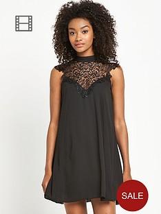 definitions-lace-yoke-swing-dress