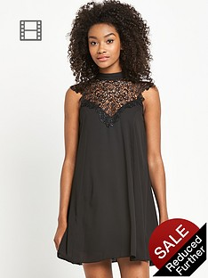 definitions-lace-yoke-swing-dress