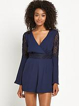 Lace Insert Playsuit