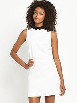 Mono Aline Collar Dress