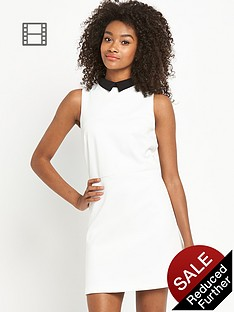 definitions-mono-aline-collar-dress