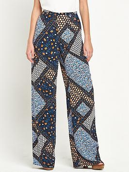 Definitions Tall Printed Wide Leg Trousers