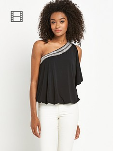 definitions-jersey-embellished-one-shoulder-top