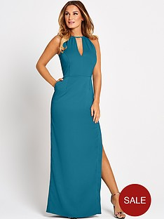 samantha-faiers-backless-maxi-dress