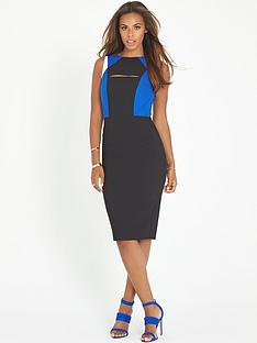 rochelle-humes-cut-work-body-con-dress