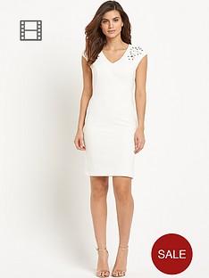 savoir-embellished-shoulder-dress