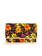 Floral Envelope Clutch Bag