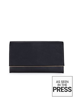 metal-bar-detail-textured-clutch-bag