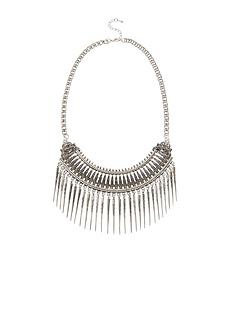 embossed-spike-detail-necklace