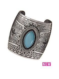 native-embossed-cuff