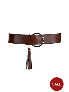 tassel-detail-boho-waist-belt